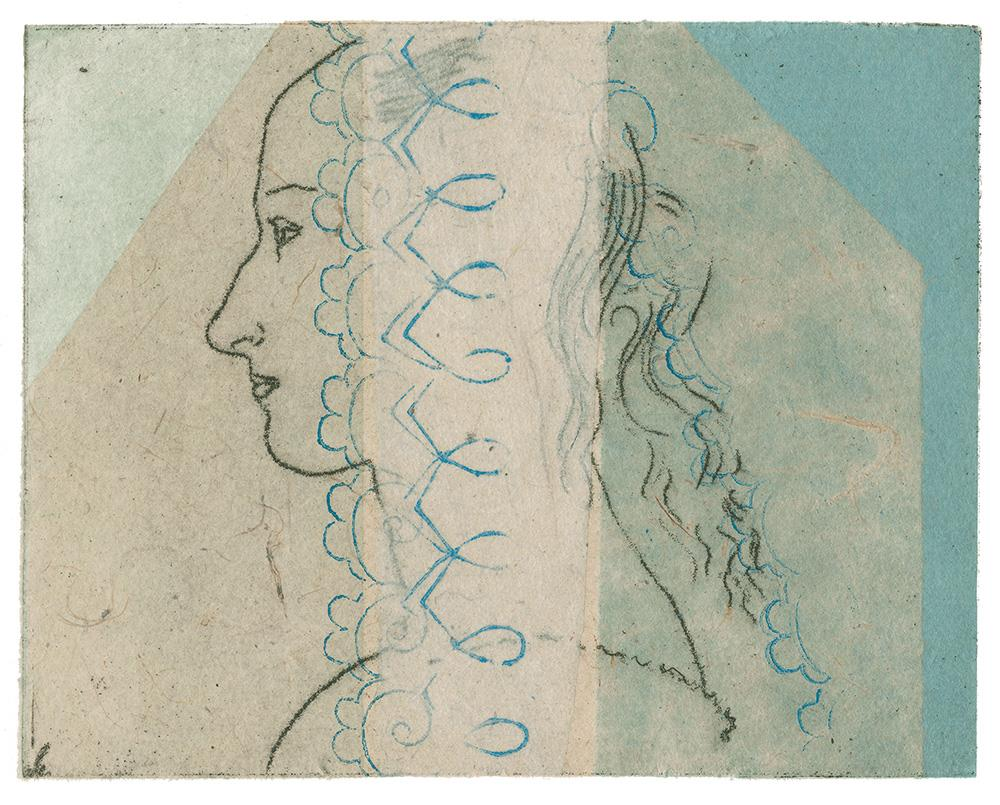 Morris Woman_4<br>Etching by Caroline Isgar